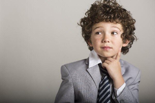 小さな頃からシステムトレードストラテジーを考える少年